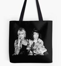 Patsy and Eddie Tote Bag