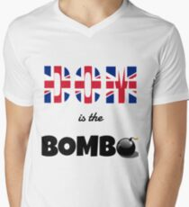 Dom Is The Bomb Men's V-Neck T-Shirt