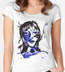 The problem with Beauty Women's Fitted Scoop T-Shirt