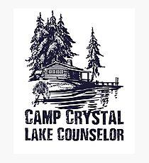 Camp Crystal Lake Counselor Photographic Print