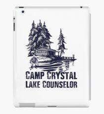 Camp Crystal Lake Counselor iPad Case/Skin