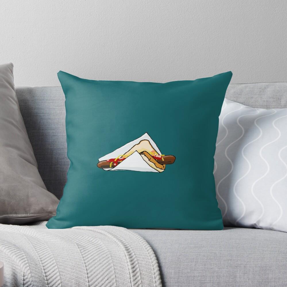 Bunnings Snag Throw Pillow
