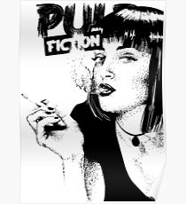 a series of pulp fiction Poster