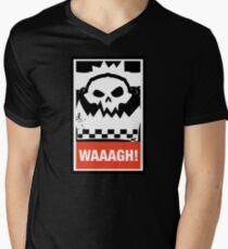 Warhammer 40k Inspired - Ork Waaagh! Men's V-Neck T-Shirt