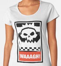 Warhammer 40k Inspired - Ork Waaagh! Women's Premium T-Shirt