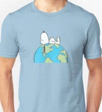 The Peanuts - Snoopy Earth T-Shirt