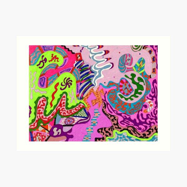 Expression Fantastic Art Print