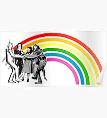 Wizard of Oz Rainbow Poster