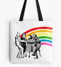 Zauberer von Oz Rainbow Tote Bag