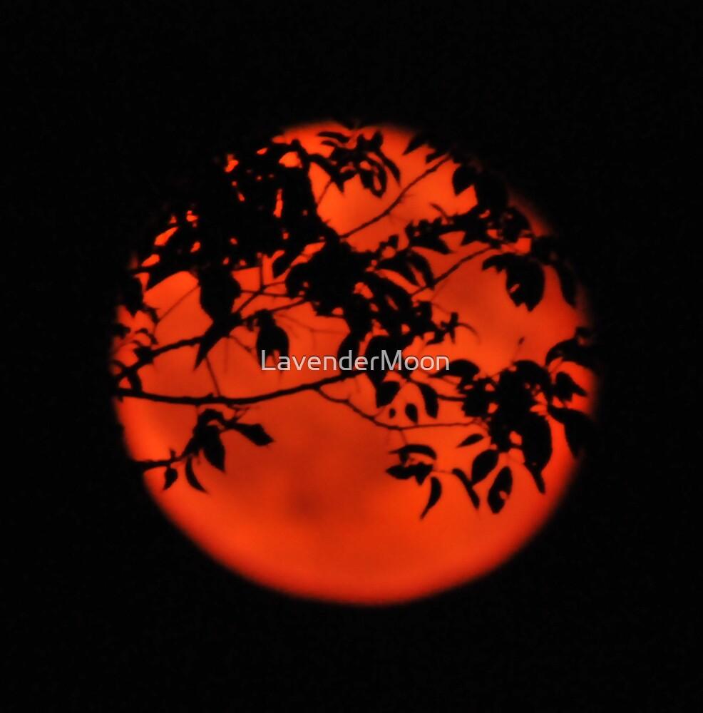 Crimson Moon by LavenderMoon