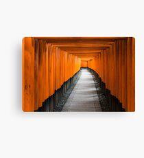 Kyoto Red Gates 1 Canvas Print
