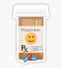 Happy Pills Sticker