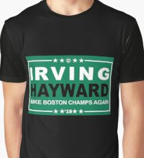 Kyrie Irving Gordon Hayward Celtics Graphic T-Shirt