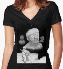 Abismo de la Dedicación. Women's Fitted V-Neck T-Shirt