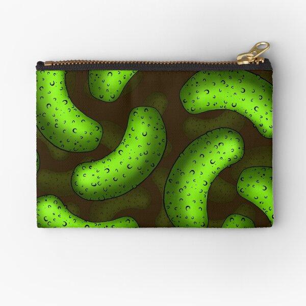 Pickle Pickle Pickle Pattern Zipper Pouch