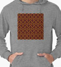 Overlook Hotel Carpet from The Shining: Orange/Red Lightweight Hoodie