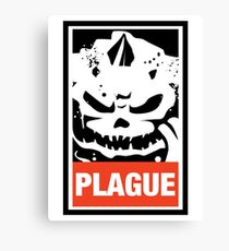 Warhammer 40k Inspired Plague Lord Nurgle Canvas Print