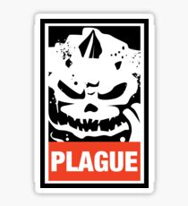 Warhammer 40k Inspired Plague Lord Nurgle Sticker