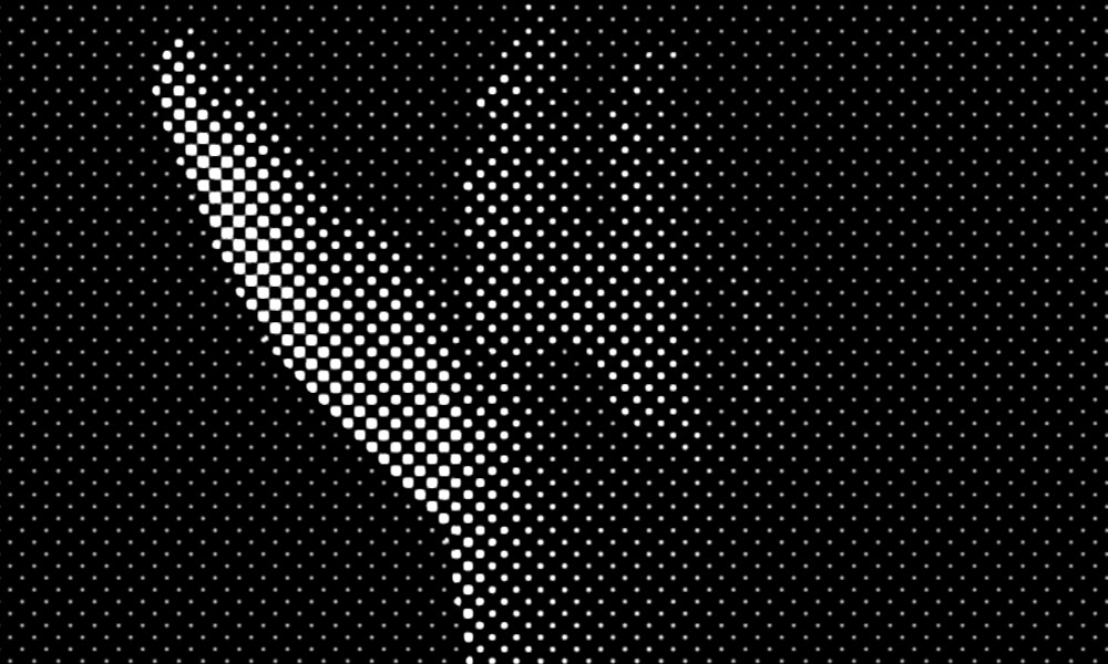 Apollo Halftone 20 by Dave Andrew Skinner