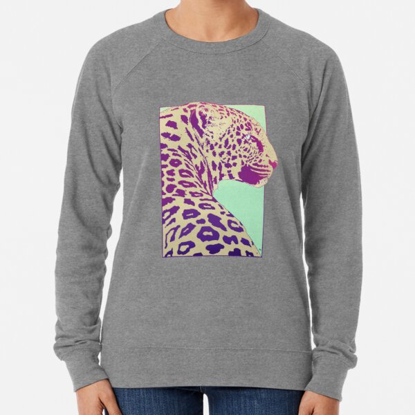 Leopard under the Sun Lightweight Sweatshirt