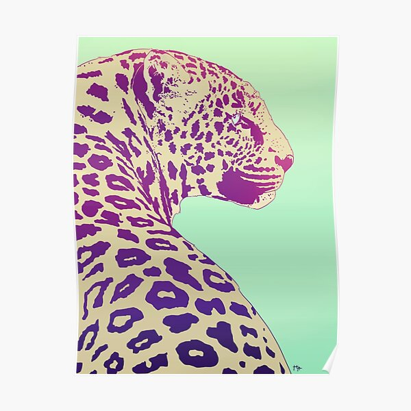 Leopard under the Sun Poster