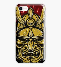 Samurai Warrior Crest iPhone Case/Skin