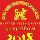 Chinese New Year of The Dog gong xi fa cai by ChineseZodiac