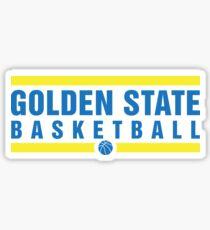 Golden State Basketball Sticker
