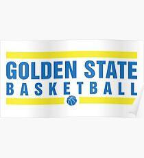 Golden State Basketball Poster