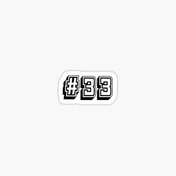 #33 - Tim Riggins Sticker