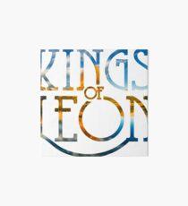 kings of leon - montana Art Board