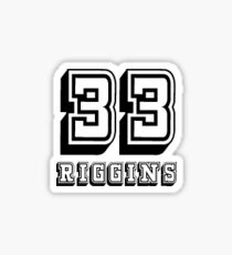 33 - Tim Riggins Sticker