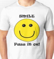 Smile! Pass It On! Unisex T-Shirt