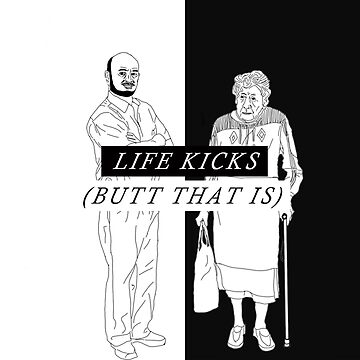 Death Grips Life Kicks (Butt That Is) by slavtrash