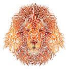 Tribal Lion by Valentin François