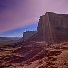 Monument Valley and Clouds. sun4 by StonePics