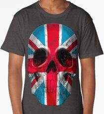 London Skull Flag Long T-Shirt