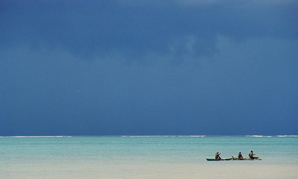 Samoan Fishing by Kate Powick