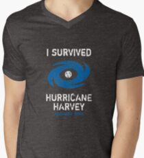 I Survived Hurricane Harvey Texas 2017 Men's V-Neck T-Shirt