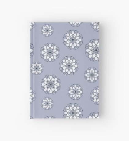 Blue Flowers Hardcover Journal