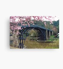 Ironbridge, Shropshire Canvas Print