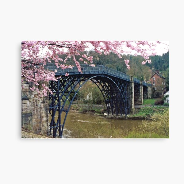 Ironbridge, Shropshire Canvas Print