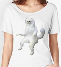 Persian Cat Room Guardian Women's Relaxed Fit T-Shirt
