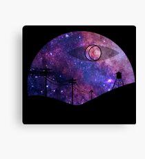 Night Vale Galaxy Canvas Print