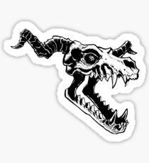 Demon's Skull Sticker