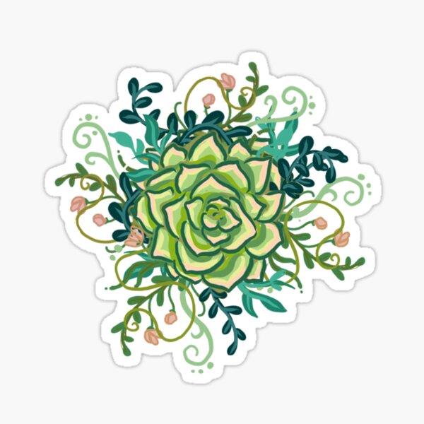 Succulent Sticker Sticker