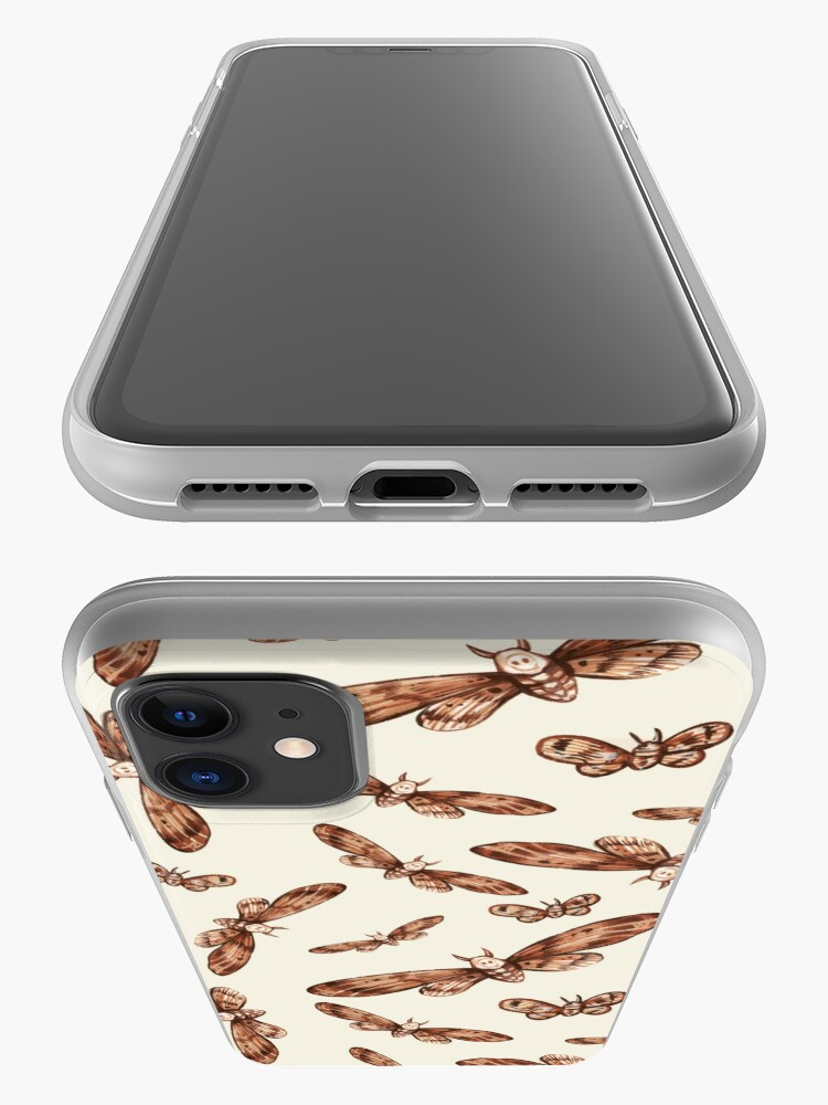 Alternate view of The Desert Moth Pattern iPhone Case & Cover