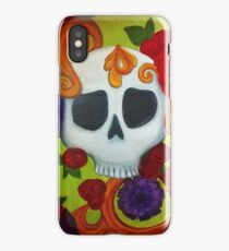 Scull Scrolls iPhone Case/Skin