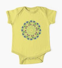 Abstract Rainbow Roses 2 Kids Clothes