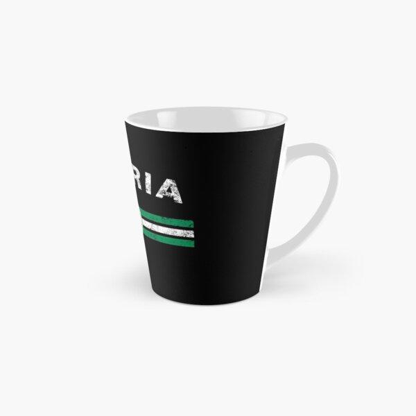 Nigerian Flag Shirt - Nigerian Emblem & Nigeria Flag Shirt Tall Mug